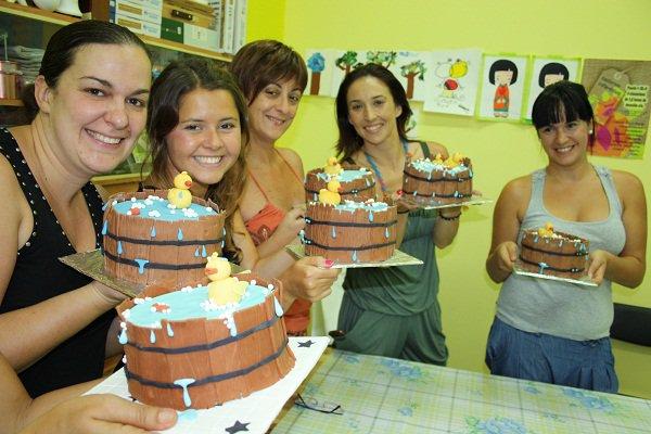 3er. Curso de Decoración de tartas con fondant en Tenerife, 13 de Agosto de 2011