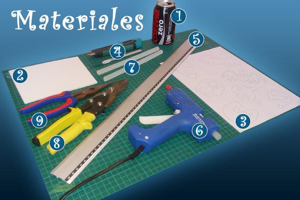 materiales que usaremos