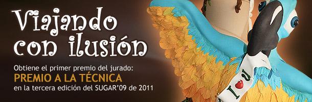 Tarta ganadora del sugar'09 de 2011