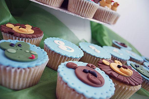 Cupcakes temática jungla
