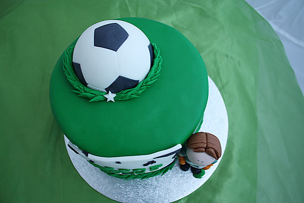 Vista aerea de la tarta