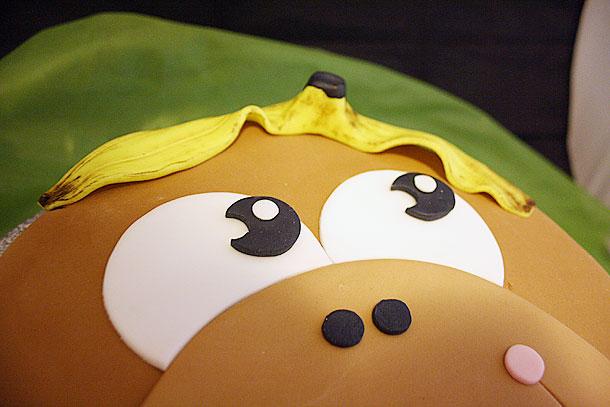 Detalle de la concha de plátano