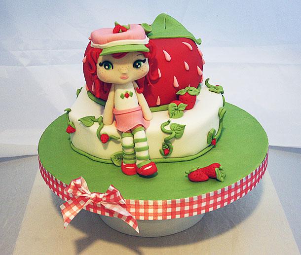 Vista general de la tarta