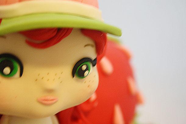 Detalle de la cara del personaje