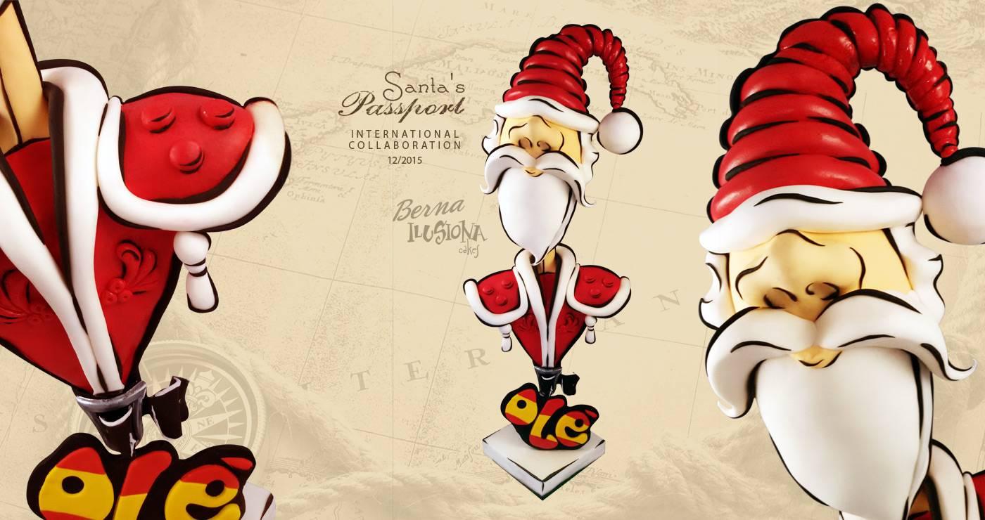 Santa's Passport International collaboration