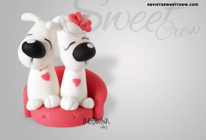 Modelado de perros enamorados