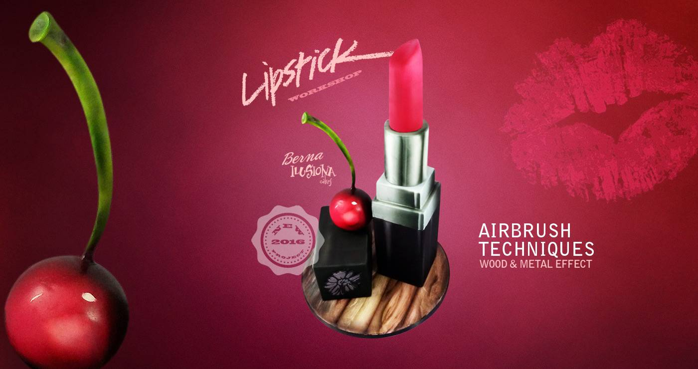 Lipstick - Airbrush techniques. New Project 2016